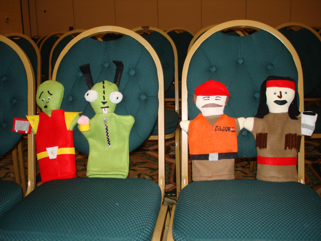 Puppets made at Assimilation