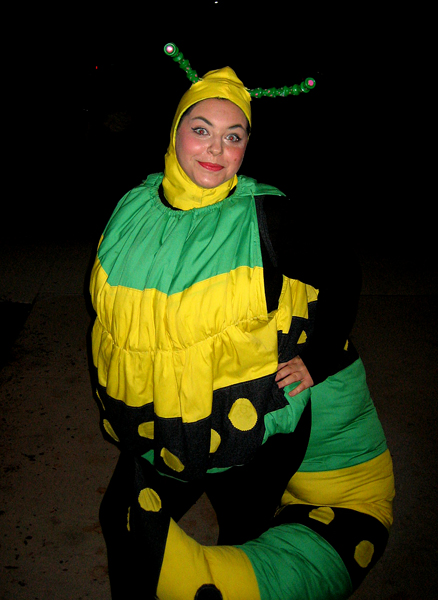 Christie Fraser as the Caterpillar