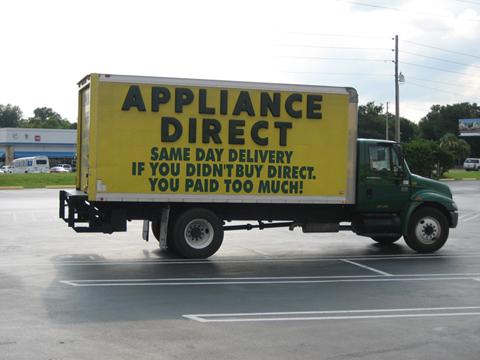 Appliance Direct Truck
